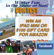 Enter to win an iPad mini or $100 Amazon gift card