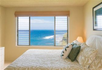 Oceanfront Views from Living