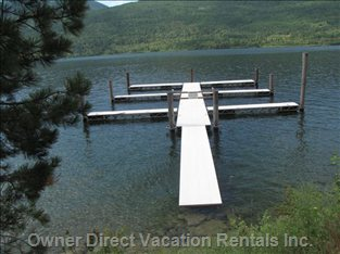 Dock at High Water - Shared Dock. we Own a Slip which is Available for your Boat.