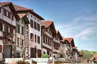 Ainhoa  -  Basque Village to Visit