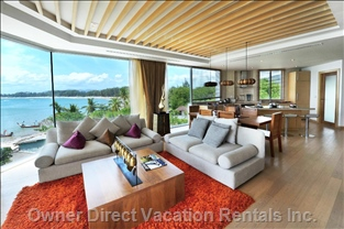 Living Room with Amazing Views
