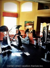 Fitness Center - Fully Equipped Center Available all Hours with Special Security Key