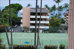 Reserve Free Time on Tennis Courts