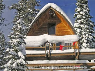 Big White Rustic Ski Cabin