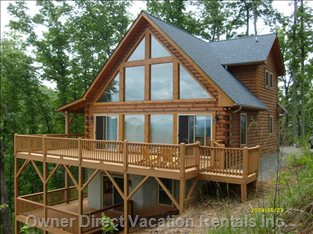 Main Deck - Enjoy Spectacular Views on this 400 Sq. Ft. Deck Space