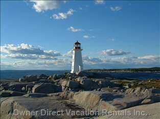 Experience the Famous Peggys Cove. Come between July 11th and 21st for the Peggy's Cove Festival of the Arts. Visit the Galleries!