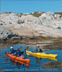 Kayak Hire and Tuition is Available Nearby.
