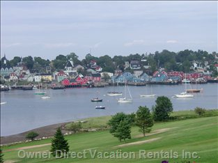 Within 30 Minutes Drive, Historic Lunenburg. Picture Taken from the Golf Course.