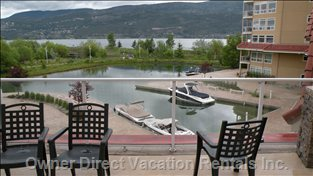 Canal - View from Pooldeck - Common Area