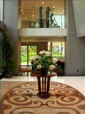 Lobby in Front of Concierge Desk