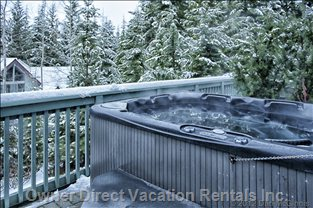 Private Hot Tub for Apre Ski