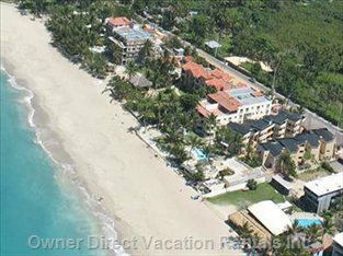 Sky View of Cabarete and Kite Beach