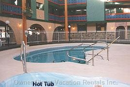 Relax in the Hot Tub and Pool - New Liner