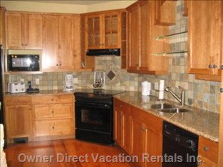 Granite Counter-top Gourmet Kitchen