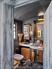 En Suite Bathroom - Artistic and Divine Bathroom, Bath with the Angels