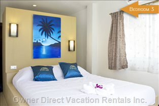 Bed Room 3 with View of Coconuts Trees