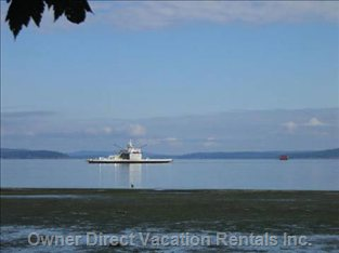 The Beach and Ferry to Saltspring Island