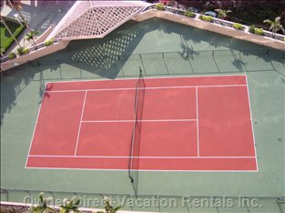 Tennis Court on-Site - Owner Provides Racquets.