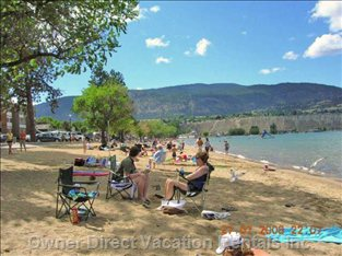 Okanagan Lake Beach