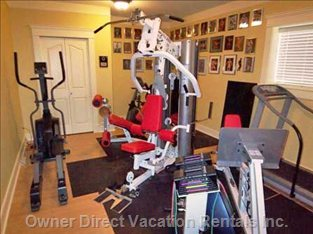 Home Gym in Suite