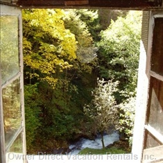 The Torrente Seen from a Bedroom Window