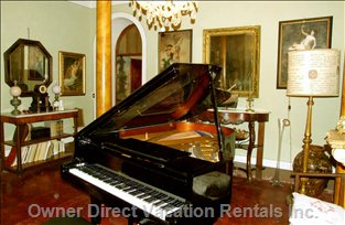 Music Room   - an Additional Reception Room with Grand Piano