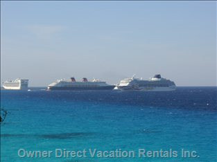 We are Away from the Cruise Ships