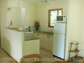 Fully Serviceable Kitchen