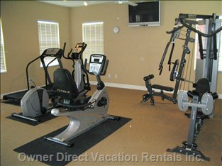 Clubhouse Fitness Room