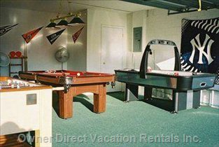 The Games Room Offers Fun for all the Family