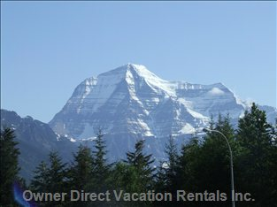 Mount Robson the Highest Peak in the Canadian Rockies.