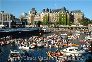 The Splash - Victoria Inner Harbour