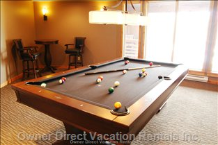 Fancy a Game of Pool? - Games Room with Pool Table for Use by all the Guests