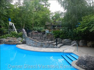 Three-tier Heated Pool