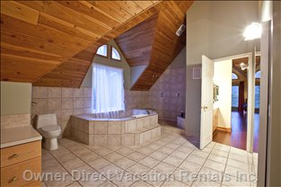 Master Bath - Master Bath has Double Sinks, Shower and Tub and Huge Walk-in Closet