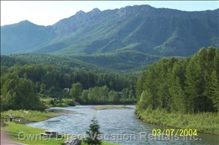 River View with Mount Fernie