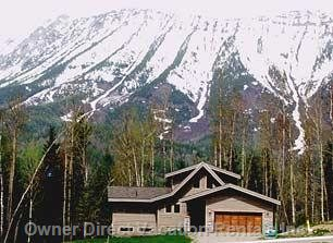 Front of House and MT Fernie