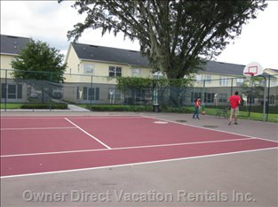 Resort Tennis & Basketball Courts