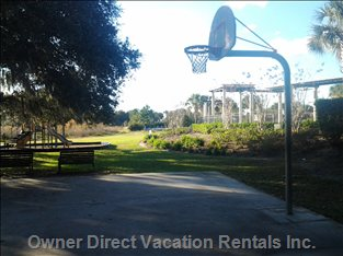 Playground and Basketball Court