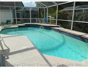 Pool Area - Large Deck with Gas Bbq, Fully Furnished and Heated. South-west View Means we Get Sun Throughout the Day