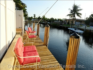 Boat Dock with Ocean Access, about 20 Minuets to Ocean, Boat Rental Available