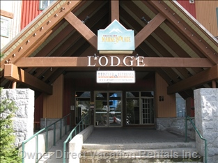 Marketplace Lodge Main Entrance