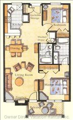 Floor Plan for Unit