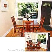 Dining Area - with Lovely Garden View