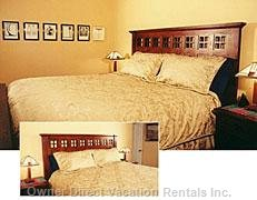 Bedroom 1 -  - Mission/Mcintosh Furnishings - King Bed