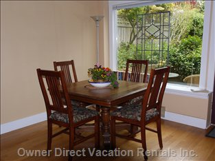 Dining Room - with Picture Window, Garden View