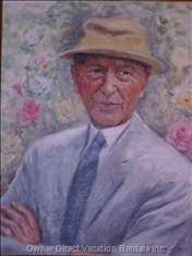 Konrad Adenauer , I  Chancellor of Germany.
