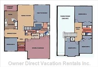 2200 Square Feet Comfort for Large Groups Or Big Families