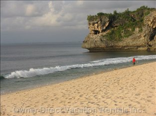 Another View of Balangan Beach
