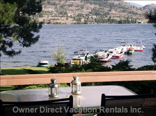 Boat Dock from Deck